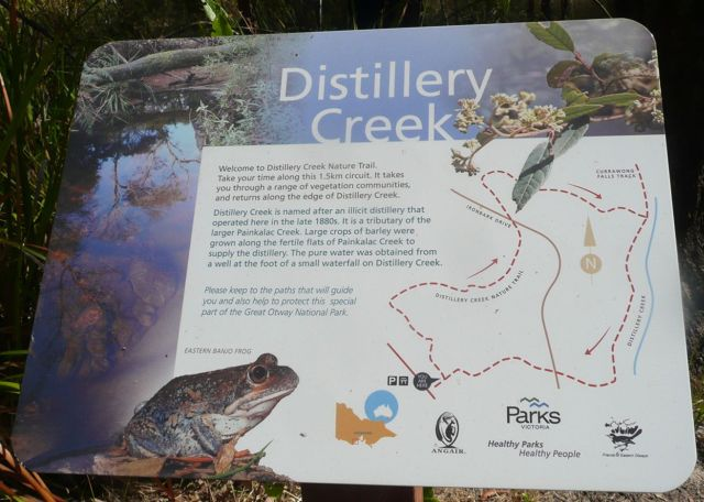 Distillery Creek sign